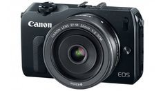 Canon's new EOS M mirrorless interchangeable lens camera with APS-C sensor... Finally!