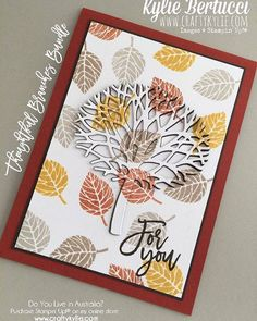 Thoughtful branches bundle! Love this set. Click on the link on my profile to…