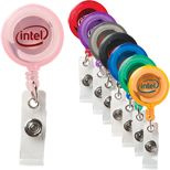 As low as  $.88 Round #Retractable #Badgeholders, Retractable ID Badge Holders for maximum brand recall.