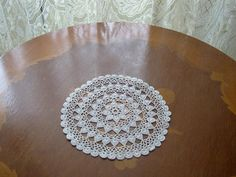 White crochet doily accessory house home decor gift mother