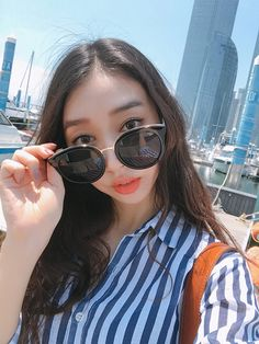 Protect your peepers with these retro style sunglasses from Daily About! Asian Fashion, Retro Fashion, Womens Fashion, Asian Street Style, Girl Things, Retro Style, Fashion Styles, Everyday Fashion, Bling Bling