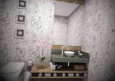 Papel de Parede para Lavabos - http://www.dicasdecoracao.com/papel-de-parede-para-lavabos/