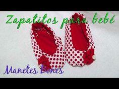 Zapatos de bebé hechos a mano. ¡No sabrás con cuál quedarte! | Aprender manualidades es facilisimo.com