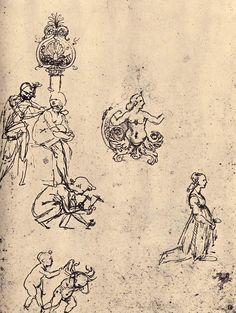 Sketches, by Leonardo da Vinci