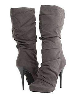 Michael Antonio Grey Boots... Love them!