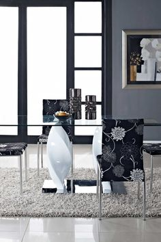 Ice Quarry Dining Table - White