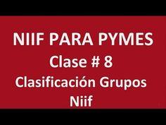 555. Clasificación Grupos Niif Clase # 8 _ ElsaMaraContable