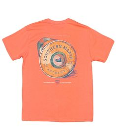 dc18c349f52 A classic T-shirt from Southern Marsh featuring shotgun shell artwork on  the back.