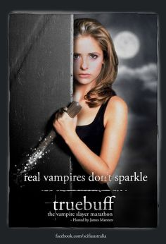Real vampires don't sparkle.