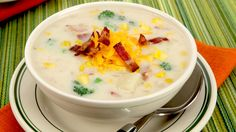 Corn and Bacon Chowder - Recipes - Best Recipes Ever - Bacon adds a smoky hint to this quick and easy chowder....