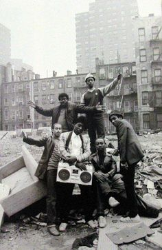 Hip hop culture. South Bronx, New York, ca. late 1970s / early 1980s.