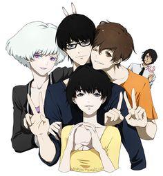 Zankyou no Terror Image - Zerochan Anime Image Board Me Me Me Anime, Anime Guys, Manga Anime, Anime Art, Kagami Kuroko, The Garden Of Words, Anime Watch, Anime Group, Webtoon