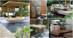 We are always here to help you turn your space into a relaxing oasis, so here are 10 incredible water features that will make you say wow. Are you excited?