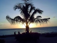 Wet & Wild Sunset - Dushi Curacao