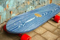 SURFIE by Wood Project. Винтажные скейтборды ручной работа из массива дуба.