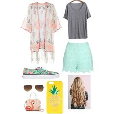 Untitled #90 by veggieranch on Polyvore featuring polyvore, fashion, style, Monsoon, Jane Norman, Kate Spade, Ray-Ban and Vans