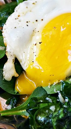 Low Carb Spinach Breakfast Salad
