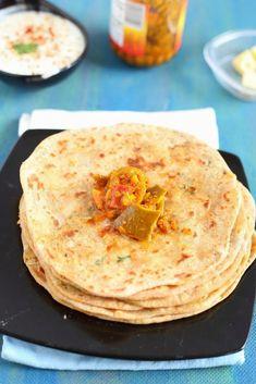 Aloo Paratha | Potato Flatbread - Sandhya's Kitchen