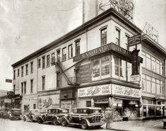 Old Photos of Newark NJ   Street Corner Newark, New Jersey c. 1930   Shorpy Historical Photo ...