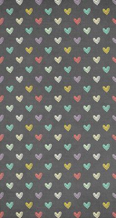 #wallpaper #phone #background #purple #geometric #hearts
