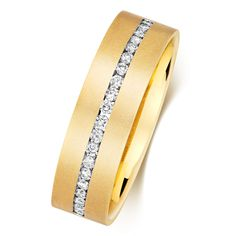 Men's 9ct Gold 6.5mm round Diamond Wedding Ring  Diamond Carat  0.31 Carat  Colour    H  Clarity    I1  Number of Diamonds  20  9ct Gold 375 hallmarked made in the United Kingdom Diamond Wedding Rings, Wedding Ring Bands, Precious Metals, Band Rings, Round Diamonds, Clarity, United Kingdom, Number, Colour
