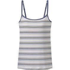 AIRism Multi-Striped Bra Camisole   UNIQLO
