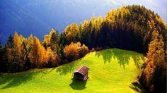 Дом в горах, Альпы, Швейцария
