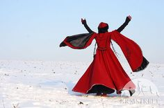 Medieval Fantasy Wool Winter Coat Queen Of Shamakhan by armstreet, $549.99