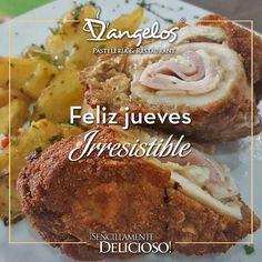 En D'angelos todos los días son especiales pero los jueves son irresistibles.  Ven y disfruta la mejor atención y un menú #SencillamenteDelicioso en @orinokia_mall y @cccaltavista2  #Guayana #gastronomia #restaurante #cafe