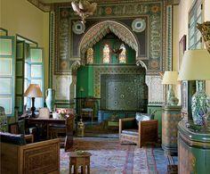 Yves Saint Laurent's Marrakesh Home.