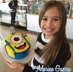 Kenzie and her cake