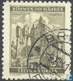 Timbres-poste - Bohême et Moravie - Bâtiments Postage Stamps, Castles, Stamps, World