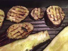 melanzane sulla griglia @ la cucina del bosco