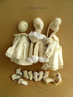 :: Crafty :: Doll :: Clothes 2 :: одежда для тильды