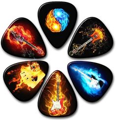 Your Custom Image on a Guitar Pick