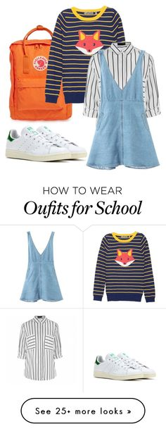 """""""School"""" by ash555 on Polyvore featuring Fjällräven, adidas and Ally Fashion"""
