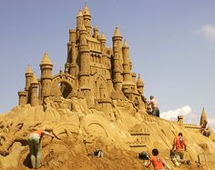 Belgium - Sandsculpture Festival