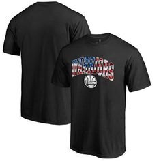 Golden State Warriors Fanatics Branded Big & Tall Banner Wave T-Shirt - Black - $34.99