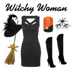 Witchy Woman by jamberrynails on Polyvore featuring Dolly & Delicious and GUESS
