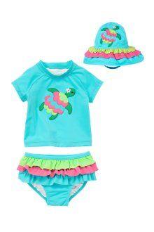 Gymboree Swimsuit 6-12 months Size Baby Girls Olivia Red NWT NEW Swim Set Summer