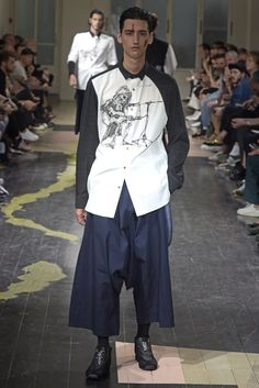Yohji Yamamoto Men's RTW Spring 2016
