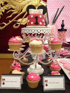 Minnie Mouse 1st Birthday Theme