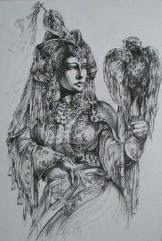 Women In History, Art History, Hungarian Tattoo, Deadpool Fan Art, Hungary History, Elven Woman, Hungarian Women, Folk Fashion, Budapest Hungary