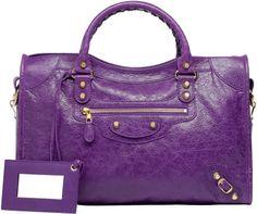 Balenciaga Giant 12 Gold City in Purple (Ultraviolet)