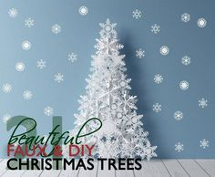 Save a real tree by opting for one of these gorgeous, eco-friendly faux Christmas trees.