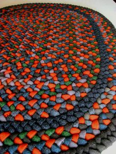 Pumpkin Patch Wool Rug | Flickr - Photo Sharing!
