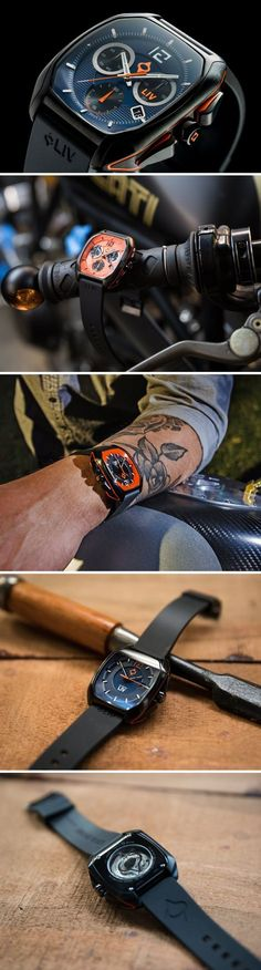 The limited edition Rebel watches are for the men who want Swiss perfection on their wrists, but with a Maverick touch instead of the Classic flavor. Designed for the wolves who dare to do something different, but do it to perfection, the watches embody that exact quality.