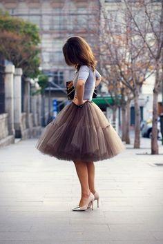 Faldas para invitadas a bodas - La boda de Lucía