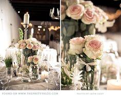 blush pink vintage wedding cape town 033 Nic & Nikki {Love is. Pink Flower Arrangements, Flower Centerpieces, Wedding Centerpieces, Wedding Color Schemes, Wedding Colors, Wedding Flowers, Amazing Flowers, Pretty Flowers, Beautiful Roses