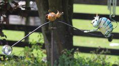 leuk windspel van 140cm hoogte met een kat en een muis (Tom & Jerry) te koop bij www.robanjer.nl